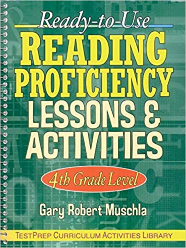 Buy Ready To Use Reading Proficiency Lessons Activities 4th Grade