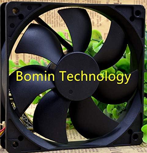 Bomin Technology for XINRUILIAN RDM12025S 12V 0.18A 3-Wire 12CM Cooling Fan