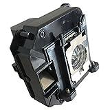 Litance Projector Lamp Replacement for Epson ELPLP64 / V13H010L64, PowerLite 1850W, PowerLite 1880, PowerLite D6155W, PowerLite D6250, VS350W, VS410