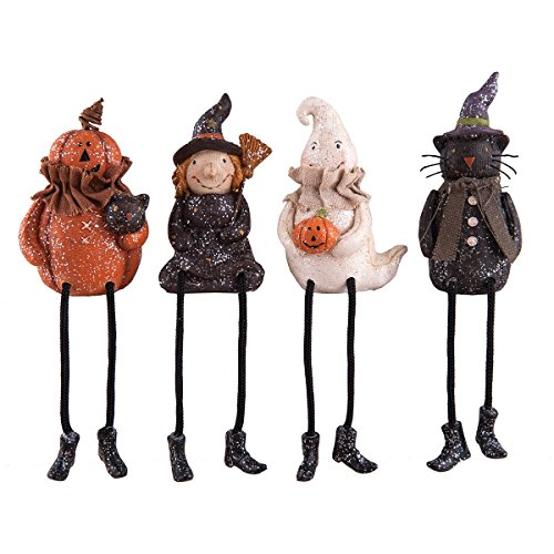 Resin Vintage Style Halloween Shelf Sitters, 7-in., Assorted -