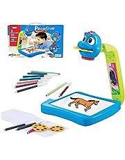 Kongxin Barn teckning projektor, barn projektor målning projektion leksaker, tidig utbildning intelligent målare, barn projektor bord målning set