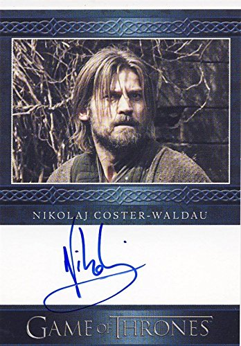 2014 Game of Thrones Season 3 Autograph Card Nikolaj Coster-Waldau as Jaime Lannister
