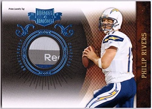 PHILIP RIVERS 2010 Plates & Patches Prime Jersey Laundry Tag Patch Card 2/4 ()
