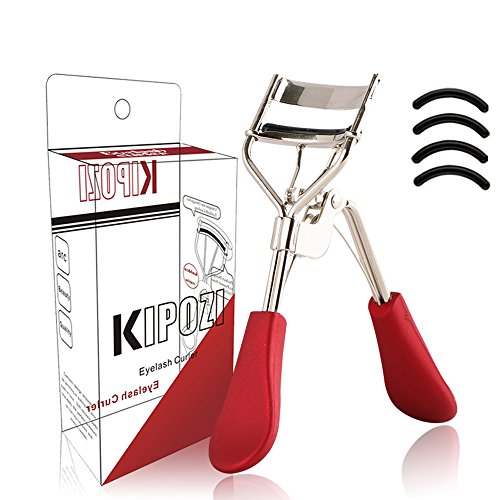KIPOZI Eyelash Curler-Pro Lash Curler with Refills Long ...