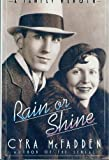 img - for RAIN OR SHINE: FAM AF 1st edition by McFadden, Cyra (1986) Hardcover book / textbook / text book