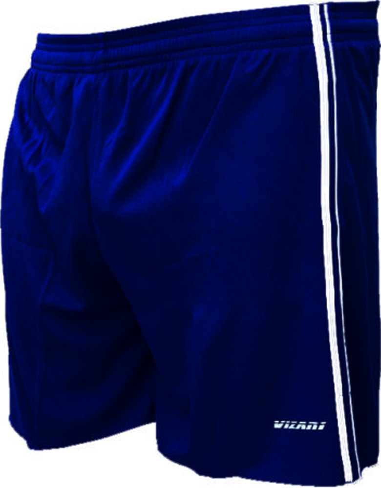 Vizari Campo Soccer Shorts B00S3L91V2 Adult Large|ネイビー ネイビー Adult Large