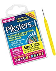 Piksters Interdental Brushes, Size 3 40 ea by Piksters