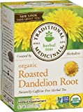 Traditional Medicinals Organic Roasted Dandelion Root, 16-Count Boxes (Pack of 6) by Traditional Medicinals [Foods]