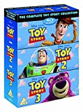 DVD : The Complete Toy Story Collection 1, 2, 3 [Blu-ray Box Set Disney]