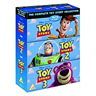 The Complete Toy Story Collection 1, 2, 3 [Blu-ray Box Set Disney]