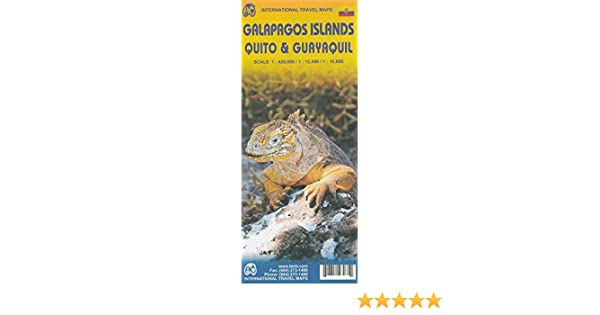 Galapagos Islands 1:420, 000 with Quito & Guayaquil street plans, ITMB: ITMB Publishing: 9780117213555: Amazon.com: Books