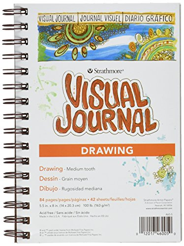 Strathmore Visual Journal Drawing 5.5″X8″-42 Sheets