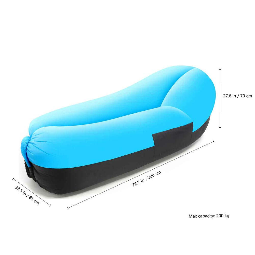 TZTED Lazy Wind Saco de Dormir Hinchable reclinable Inflable ...
