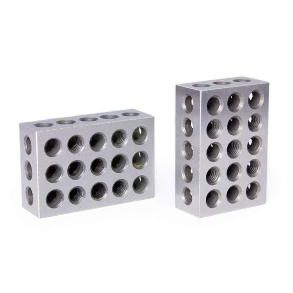 "Pair of 2 4 6 Blocks for milling (They are 2x4x6 inches, Within 0.0001"" ) IDEA Engineering"