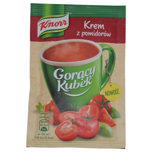 Check expert advices for tomato soup packets?