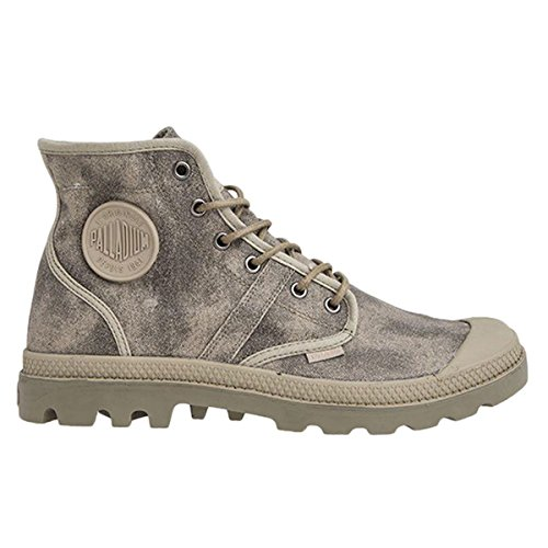 Womens Pallabrouse Canvas Boots Palladium Goat Wax Brindle 8q54dw