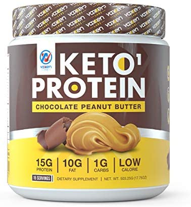 Vaxxen Labs Keto Whey Protein Powder Blend Chocolate Peanut Butter