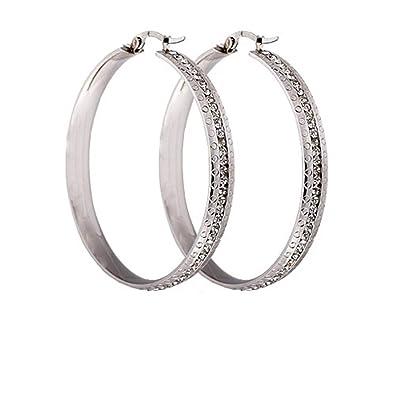 0e7b8c3c0946 GUOFUREN Diamond Earrings Aretes Redondos Grandes Europeos Y Americanos De  Moda Personalizada Aretes Aretes