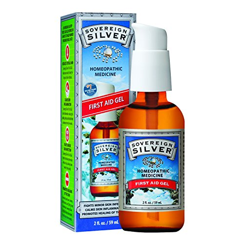Silver Remedies Colloidal (Sovereign Silver, 2 Oz. First Aid Gel)