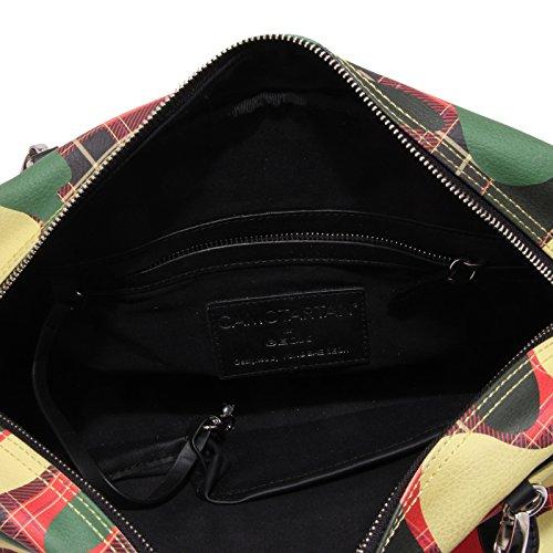 Donna Ecopelle Camotartan 6160u Multicolore Handbag Tracolla Borsa Woman For Geox xBEnvwT