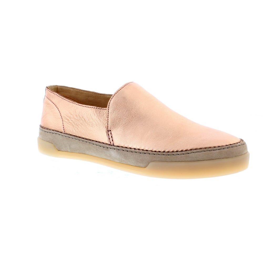 Clarks Gold Hidi Hope - Rose Gold Clarks Leder 3398ef