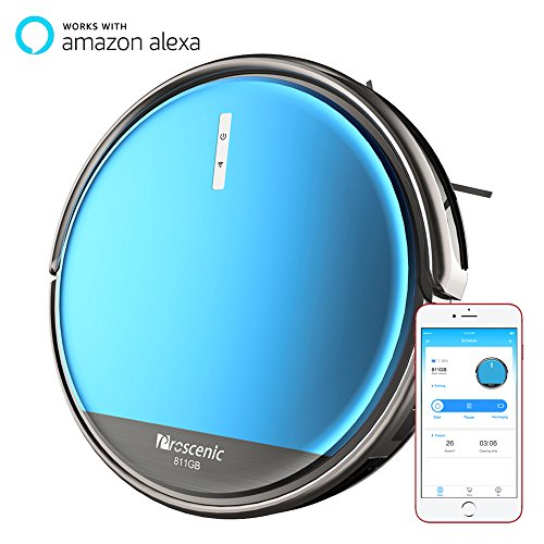 Proscenic 811GB Robot Vacuum, Sweep & Mop Water Tank , Alexa & App Deal (Large Image)