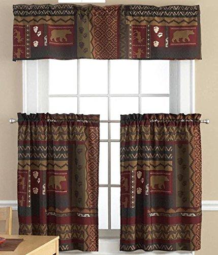 Bear Kitchen Curtains   1