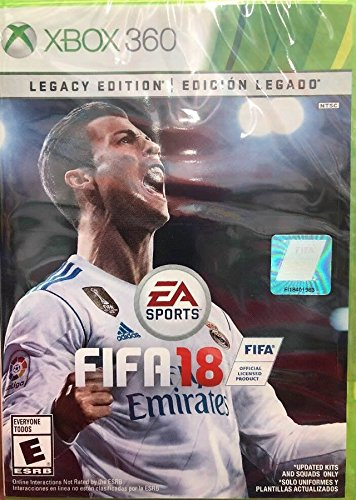FIFA 18 Legacy Xbox 360 product image