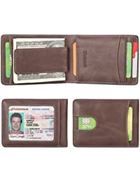 Genuine Leather Billfold Magnetic Blocking Noticeable