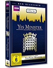 Yes Minister (Die komplette Serie) & Yes, Prime Minister (Staffel 1) (2 Serien in einer Box) (6 Disc Set) (Exklusiv bei Amazon)