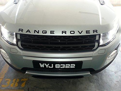 range rover evoque letters - 6