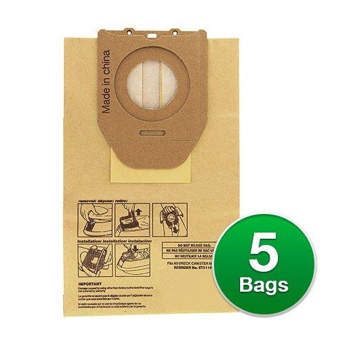 Replacement Vacuum Bag for: Oreck ET511PK / DutchTech Bags (Single Pack) -