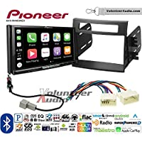 Volunteer Audio Pioneer AVH-W4400NEX Double Din Radio Install Kit with Wireless Apple CarPlay, Android Auto, Bluetooth Fits 2012-2013 Kia Soul