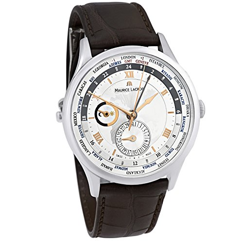 Maurice Lacroix Masterpiece Tradition Worldtimer Men's Watch MP6008-SS001-110-2