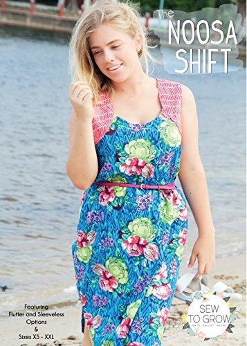 Amazon Sew To Grow Ladies Sewing Pattern Noosa Shift Dress New Shift Dress Pattern