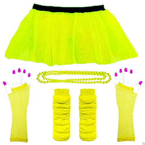 80s neon fancy dress - 6