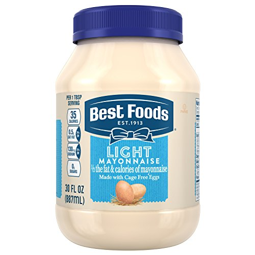 Best Foods Mayonnaise, Light, 30 (Best Foods Light Mayonnaise)