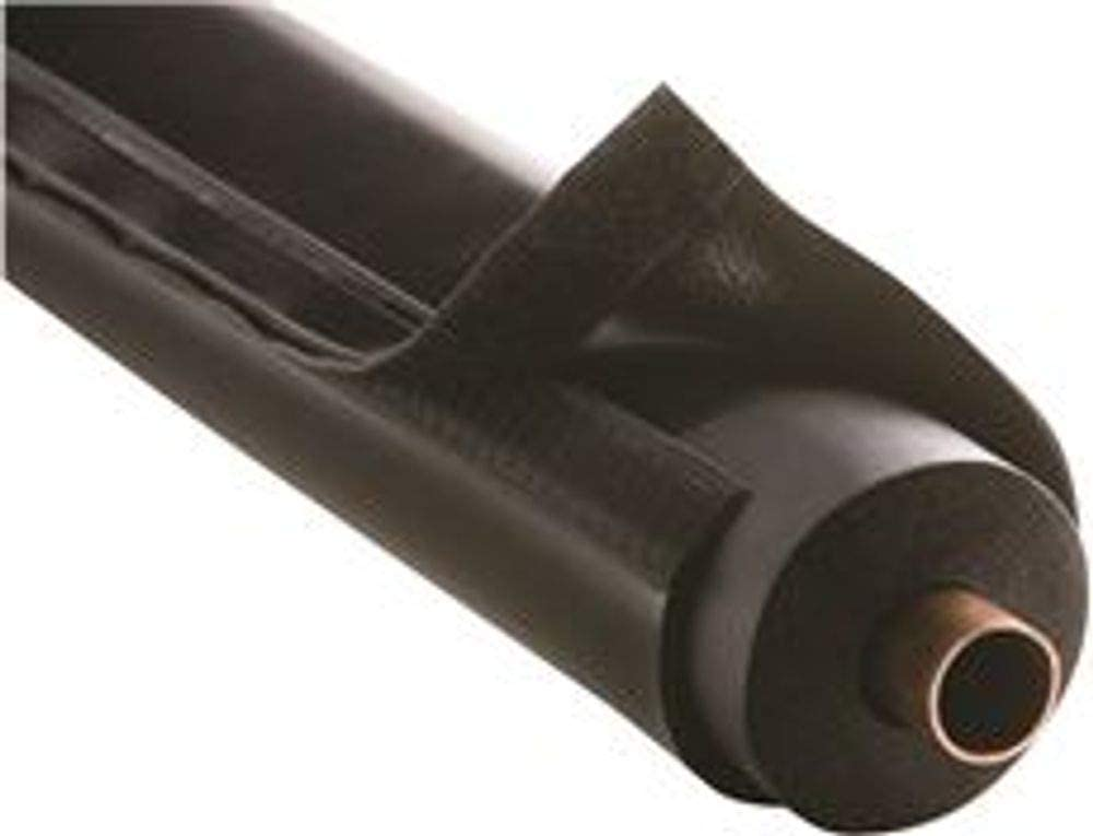 Airex 72X-B E-Flex Guard Plastic HVAC Line Set and Outdoor Pipe Insulation Protection English Fits 1 Insulation 20.71 fl oz Black 12.9 x 3.7 x 6.2