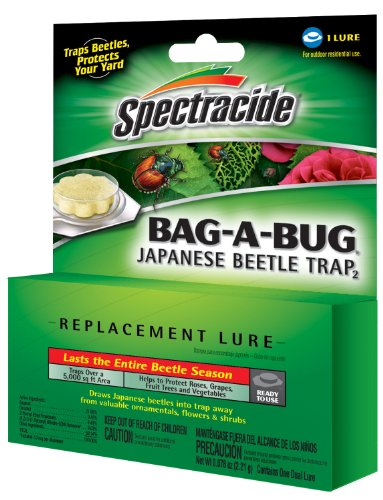 Spectracide 16905-1 Bag-A-Bug Japanese Beetle Trap Replacement Lure (Pack of 12)