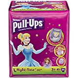 Pull-Ups Training Pants Night Time for Girls,Size 3T-4T, 44 Count (Pack of 2)