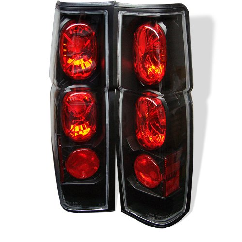Spyder Auto Nissan Hardbody Black Altezza Tail Light ()