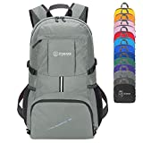 ZOMAKE Lightweight Backpack, 35L Hiking Water Resistant Foldable Backpack Daypack for School Travel