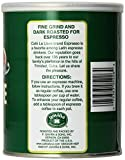 Café La Llave Espresso, Fine Grind, 100% Pure Coffee, Dark Roast, Rich and Aromatic, Latin Espresso, Finely Ground, 10-Ounce Can