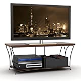 "Atlantic Nuvo 43"" Tv Stand - Corner Flat Screen Plasma Televsion Stands Media Console Cabinet Tables"