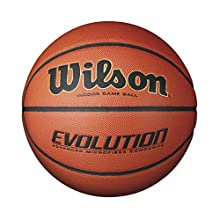 Wilson Evolution Indoor Game Basketball, Youth - Size 5