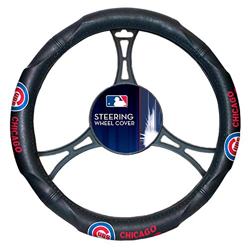 - The Northwest Company MLB Chicago Cubs Licensed Steering Wheel Cover, One Size, Multicolor