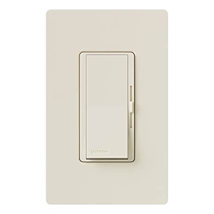 Lutron DVWFSQ-FH-LA Diva 1.5-Amp Single Pole 3-Way 3-Speed Fan Control, Light Almond - Ceiling Fan Wall Controls - Amazon.com