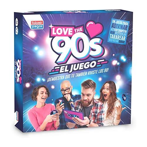 chollos oferta descuentos barato Falomir 90 s Love The 90 S Juego de Mesa Color Azul 27x27x6 5 1