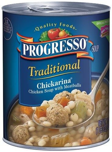 progresso-traditional-soup-chickarina-chicken-soup-with-meatballs-19-ounce-pack-of-6