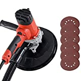 DURHAND Hand Held Dry Wall Sander 225mm 230V with Dust Collection System 1200W